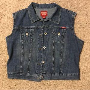 Guess Vintage Jean Vest XL